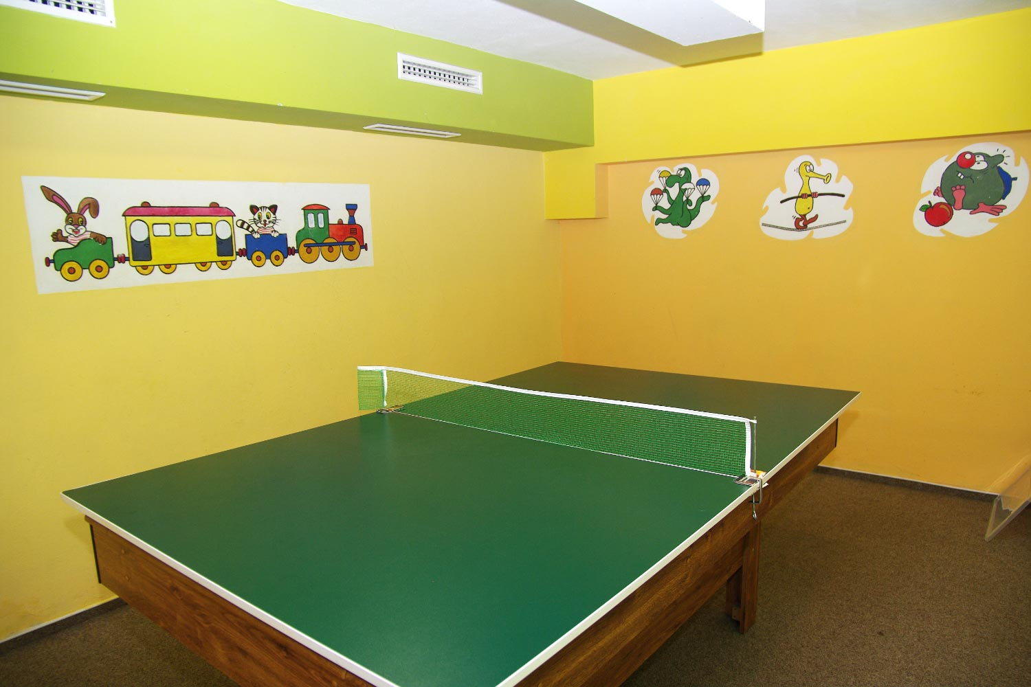 Table tennis services